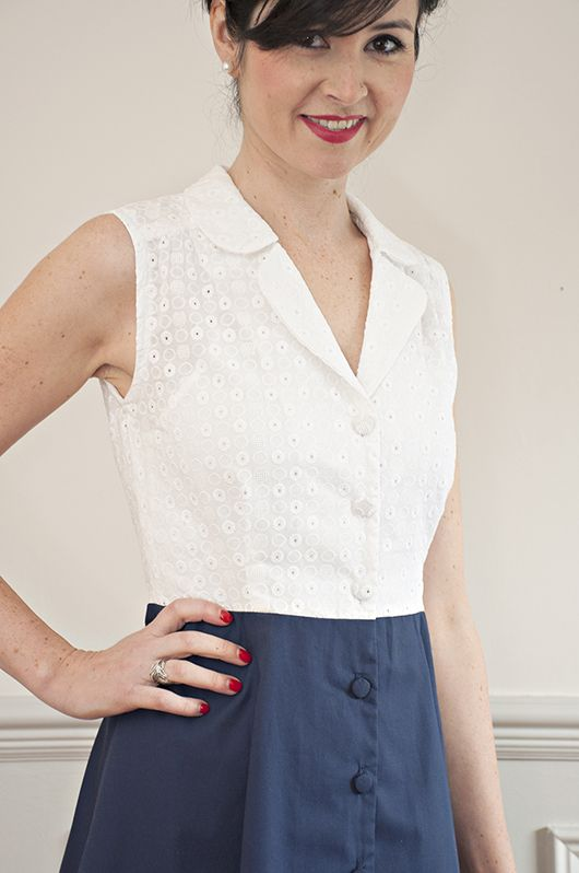 Sew Over It: Vintage Shirt Dress - a new pattern! Get it here: http://shop.sewoverit.co.uk/products/vintage-shirt-dress-sewing-pattern