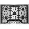 Frigidaire 5-Burner Gas Cooktop (Stainless Steel) (Common: 30-in; Actual: 30-in)