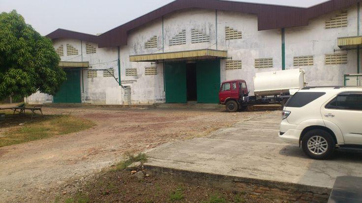 Pabrik dijual di Kawasan Industri Jatiuwung Tangerang.