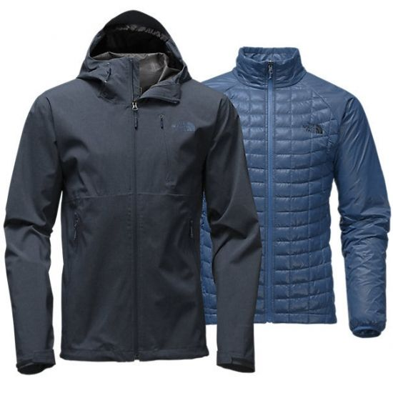 THE NORTH FACE Thermoball Triclimate Hoodie férfi kabát