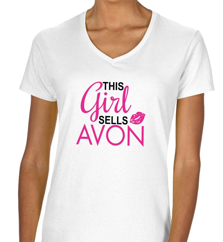 73 best avon signs and decals images on pinterest decal for Where can i sell t shirts