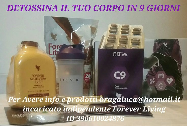 Per Avere info e prodotti bragaluca@hotmail.it  incaricato indipendente Forever Living Products Italy  http://shop.foreverliving.it/index.php?f4o=load&f4m=tng_vshop_registration&f4a=module_tng_vshop_registration_PUBLIC_build_tng_vshop_registration_customer_type&my_sponsor_code=390610024876&my_sponsor_name=LUCA&my_sponsor_surname=BRAGA