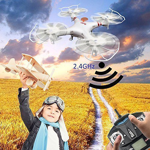 GPTOYS F2C Aviax Remote Control Quadcopter Drone Helicopter with Transmitter & Gyro System & HD Camera & LED Lights & 4G SD Card & SD Card Reader – RC Radio Control #radiocontrolhelicopters #radiocontrolairplanes #radiocontroldiy