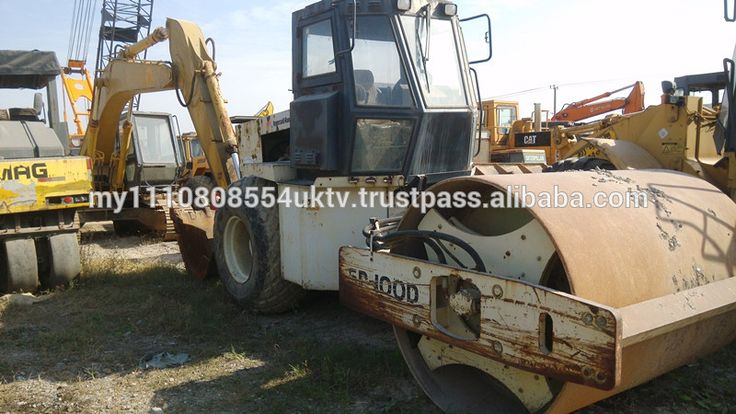 Good condition Ingersoll-Rand road roller SD100D best price in China sale