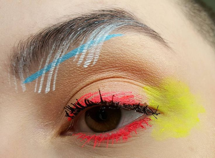 """2,222 Likes, 27 Comments - Shannon VanVeldhuizen ♀ (@themakeupmantra) on Instagram: """"ABSTRACT SUMMER 