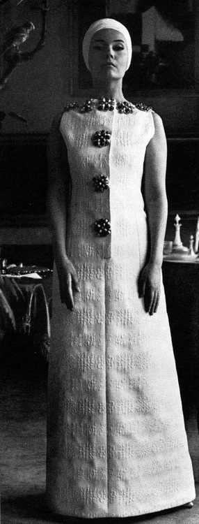Life - March 8, 1963  Ludmila Tcherina in Capucci. 1960s fashion images.