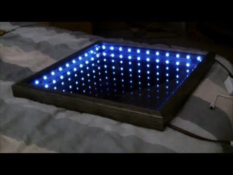 How to make an L.E.D infinity mirror. Really cool illusion piece and pretty simple to make! Instagram- http://instagram.com/andy_elliott_/ Twitter- https://t...