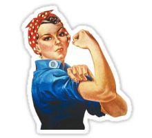 Rosie the Riveter Sticker