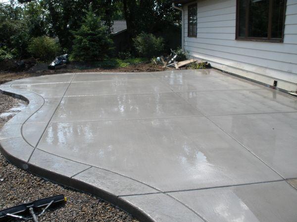 Concrete Patio Ideas To Choose From For Your Compound Decorifusta Concrete Patio Designs Concrete Patio Patio Design