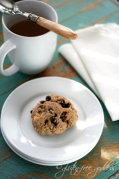 cinnamon raisin scones gf | glutenfree | Pinterest