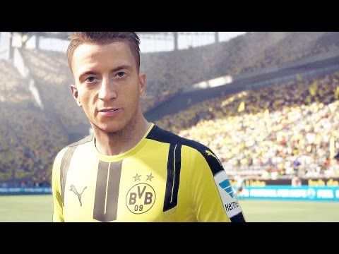 http://www.fifa-planet.com/fifa-17-gameplay/fifa-17-gameplay-full-match-marco-reus-playing-fifa-17-borussia-dortmund-vs-bayern-munchen/ - FIFA 17 Gameplay FULL MATCH - MARCO REUS Playing FIFA 17 Borussia Dortmund vs Bayern München  FIFA 17 Gameplay FULL MATCH with Marco Reus playing FIFA 17 Follow me on Twitter – SUBSCRIBE –  Subscribe to MKIceAndFire to get all the new game trailer, gameplay trailers and cinematic trailers including game walkthroughs on MKIceAn