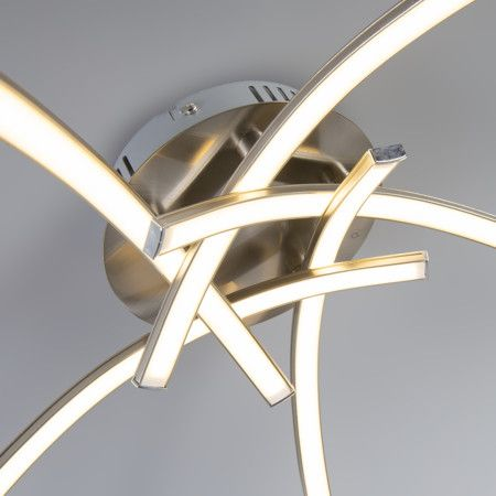 Ceiling Lamp Vasco 5 Steel