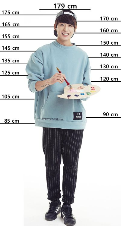 Jungkook - Compare your height with the BTS members.