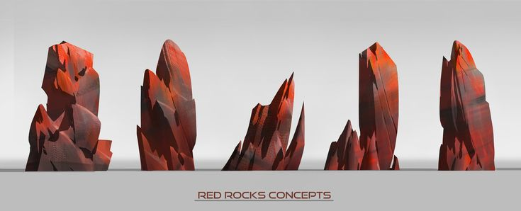 ArtStation - Red Rocks concept, Ulysse Verhasselt
