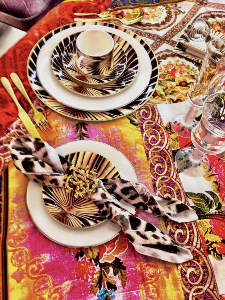 TIGRESS - Tableware Collection - Available at Palazzo Collezioni Boutique Sydney #robertocavalli #robertocavallihome #luxury #homedecor #madeinitaly #sydney #follow #me #fashion #interior