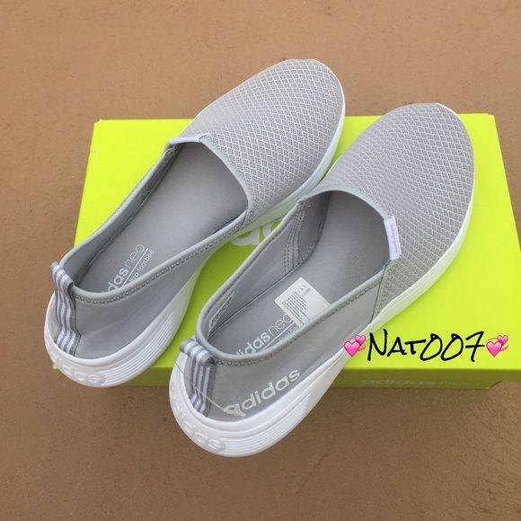 czech adidas neo cloudfoam slip on women 71c22 26c70