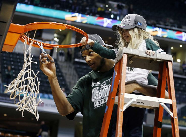 Michigan State's Adreian Payne and Princess Lacey will warm your heart, presented by DISH