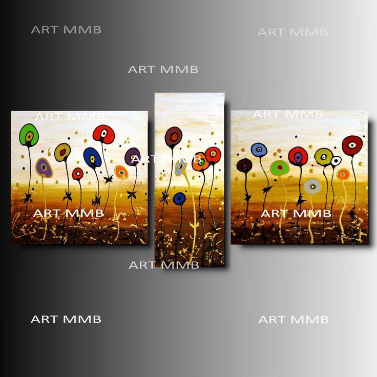 Produzione Quadri moderni astratti - 100% dipinti a mano. Quadri Moderni Astratti Toni del marrone, ocra, arancione, rosso, verde bianco