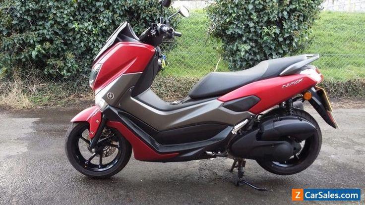 Yamaha NMAX 2017 125cc Scooter #yamaha #nmax #forsale #unitedkingdom