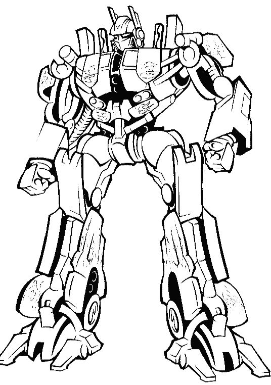 transformers free coloring pages clampdown - photo#19