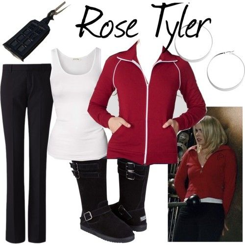 Rose Tyler inspired outfit