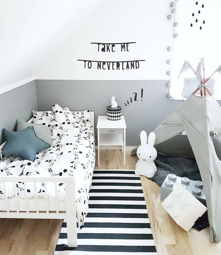 Black And White Kids Room: 1000+ Ideas About White Kids Room On Pinterest