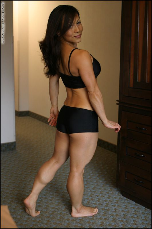 Consider, Asian women muscle legs know, that