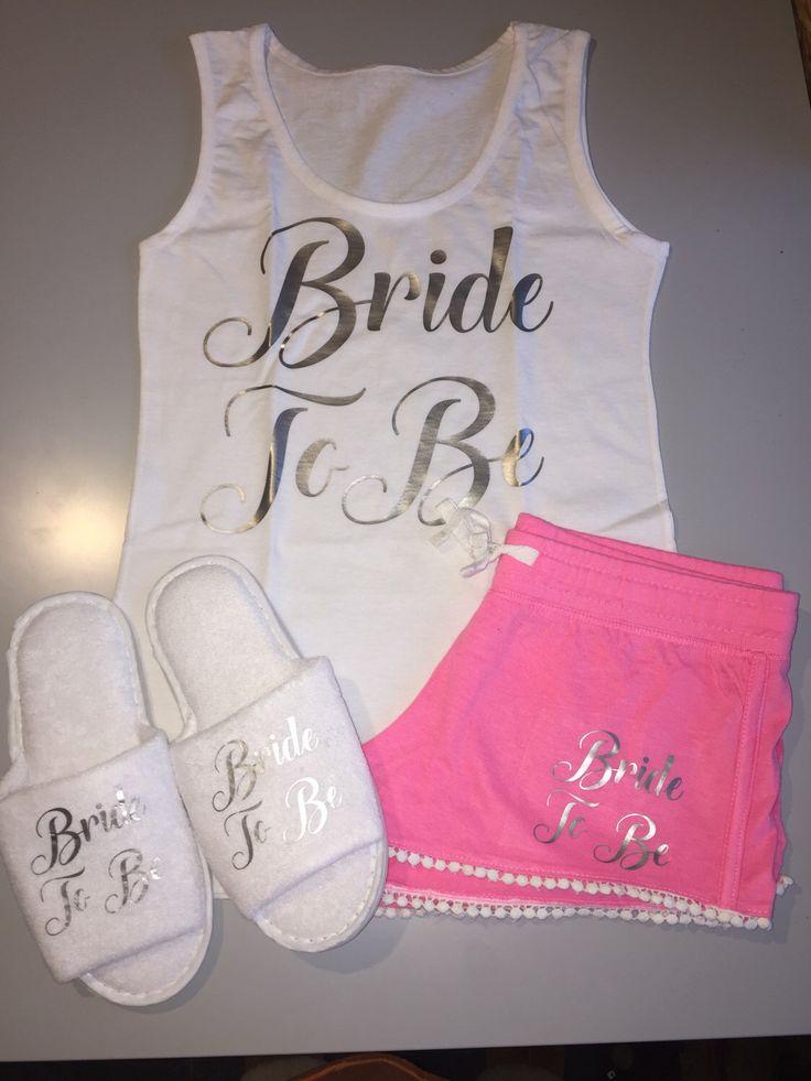 bride pajama set, bride pyjamas, bride slippers, bride pyjs, bridal night wear, bridal pajamas, personalised pajamas, pyjs, pyjamas, bride by personaliseddiamante on Etsy https://www.etsy.com/uk/listing/502529708/bride-pajama-set-bride-pyjamas-bride