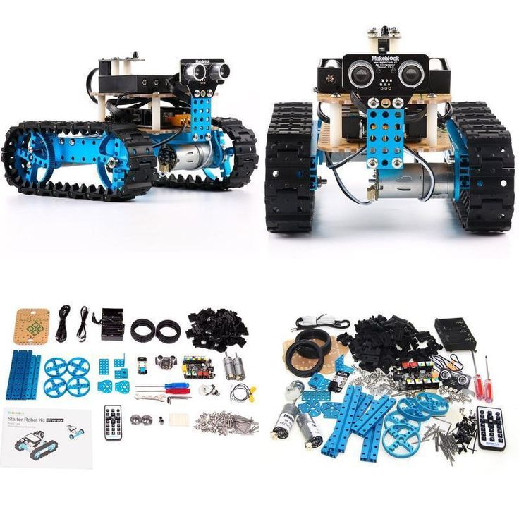 Robotic Building Block System DIY Starter Robot Kit Education Arduino IR Version #RoboticBlock