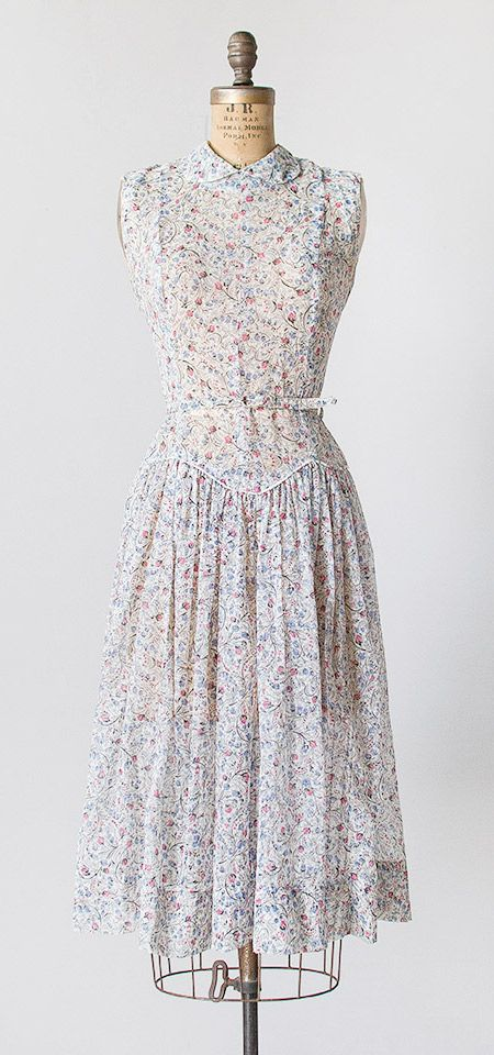 25  best ideas about Vintage floral dresses on Pinterest | Garden ...
