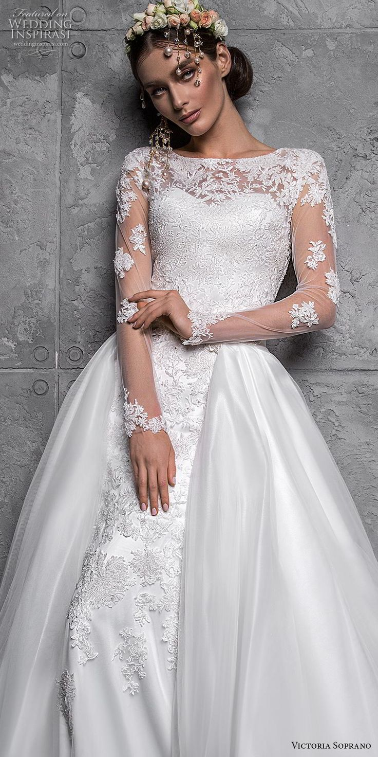 "Victoria Soprano 2020 Wedding Dresses — ""Chic Royal"