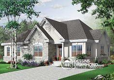 Plan de maison no. W3043 de dessinsdrummond.com
