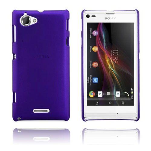 Hard Case (Violetti) Sony Xperia L Suojakuori