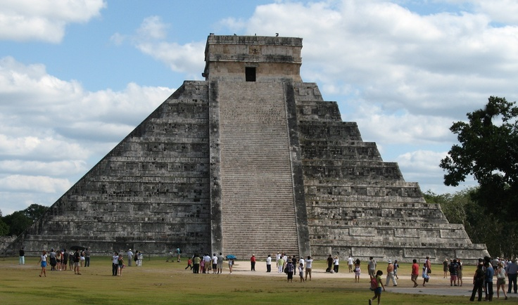 Chitchen Itza, Mexico. A day trip we took on honeymoon.