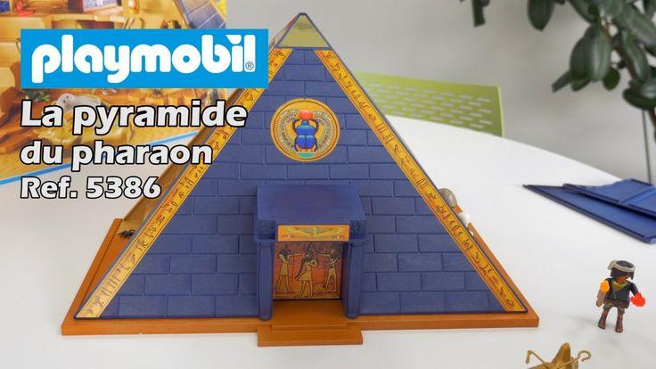 Playmobil 5386 : la pyramide du pharaon (2017) - Construction en français