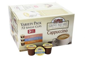 Grove Square Cappuccino 72 Ct. K-Cup Variety Pack Only $25.79 (Just 36¢ Each)