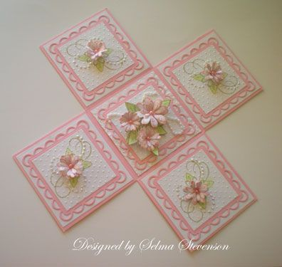 Selma's Stamping Corner and Floral Designs: Daisy Explosion Box