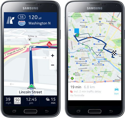 Nokia's Here Maps Its Future On Samsung With Its First Android And Tizen Apps - See more at: http://www.techyno.com/2014/08/nokias-here-maps-its-future-on-samsung.html#sthash.yfKsAXvN.dpuf
