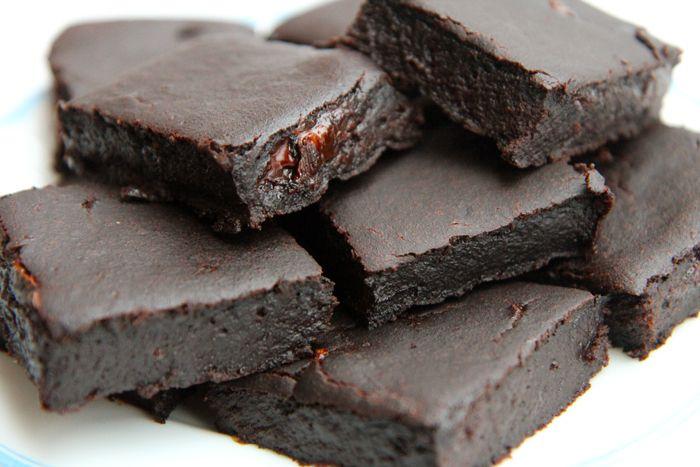 .: Výborné čokoládové brownies!