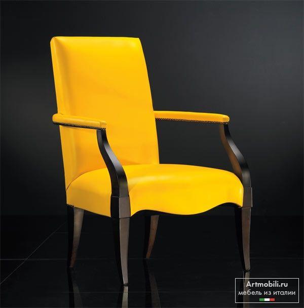 Кресло Арт. 0146P, фабрика Seven Sedie, коллекция Cinquanta. Кресло Арт. 0146P на заказ.