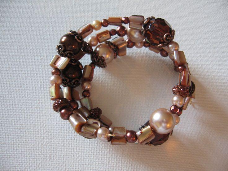 browns - wrap around bracelet