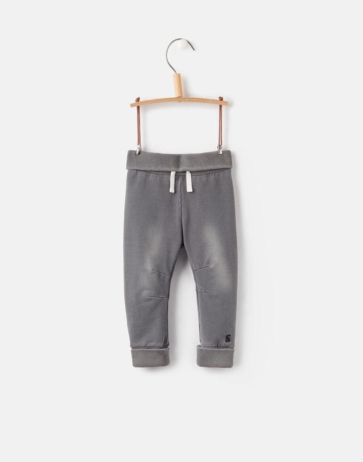 Hugo Grey Denim Jersey Denim Jogger | Joules UK