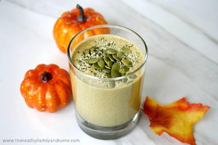 Pumpkin Protein Smoothie [Vegan]   One Green Planet
