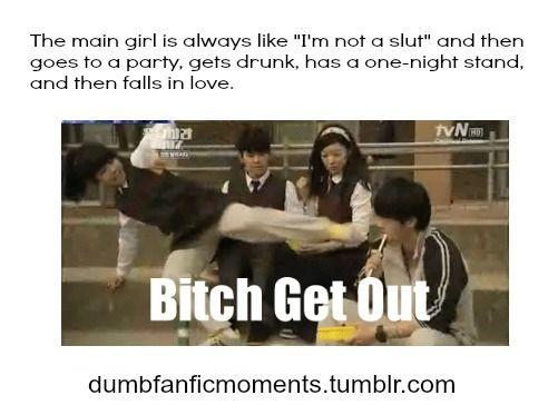 dumb fanfic moments | Dumb Fanfic Moments. | via Tumblr