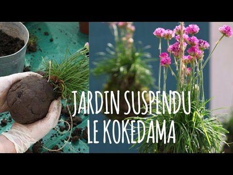 Comment faire un kokedama ? Plante à suspendre - DIY/Tuto déco-jardin - YouTube