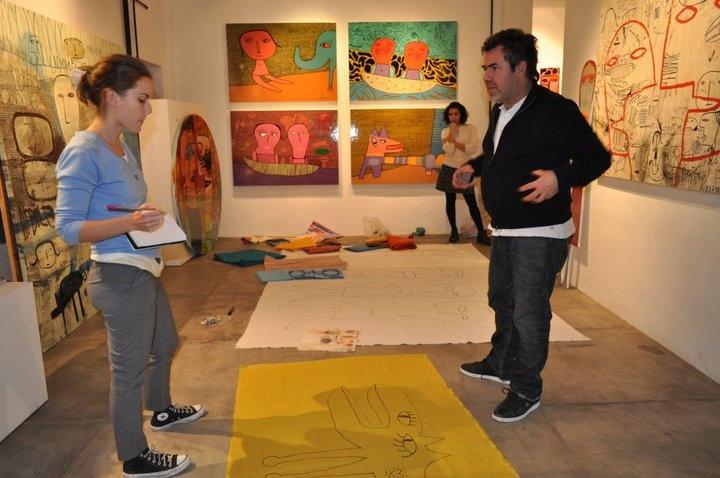 Milo Lockett, artista de Chaco, Argentina