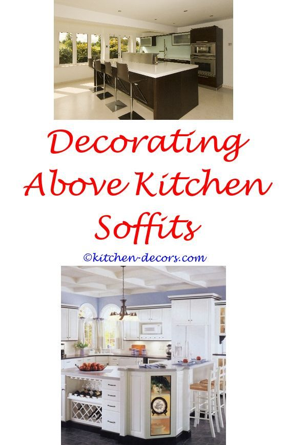 Ideas For Decorating A Large Kitchen Wall Animal Print Decor Cabinets With Decorative Shelf Above Sink Figurines Decorations How