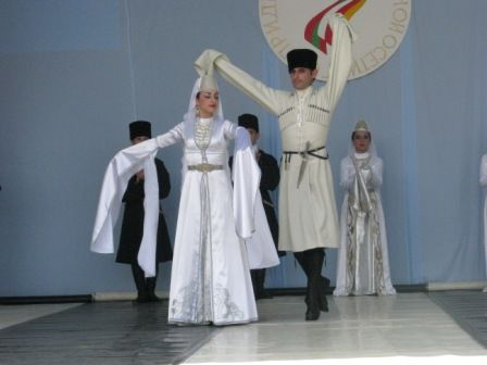 South Ossetian performers
