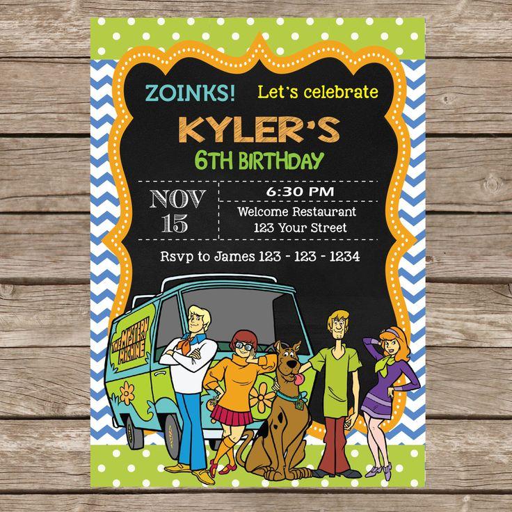 112 best Festa ScoobyDoo images on Pinterest | Birthday parties ...