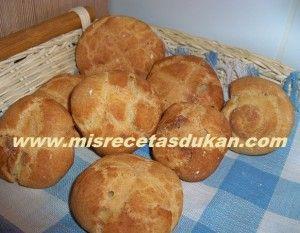 Receta de pan crujiente de la dieta dukan
